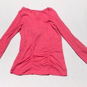 3/$15🟧Hannah H2 Athletic Hooded Long Sleeve Top